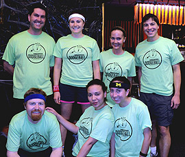 The Stop, Drop and Rollers Team Photo