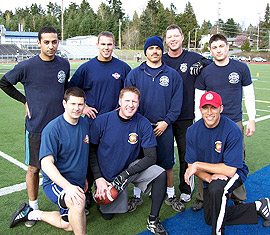 Seattle Fire Team Photo
