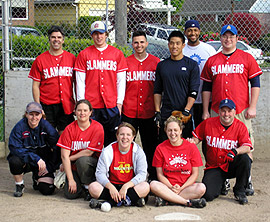 Slammers Team Photo