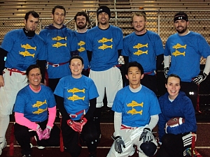 Blue Barracudas Team Photo