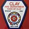 Clay Fire Department Team Logo