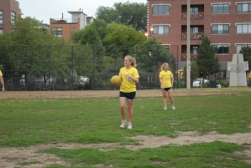 Kickball @ Churchill Park