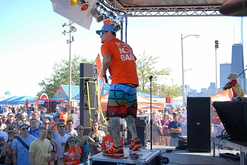 Big Dig 2012 - Vanilla Ice Performing