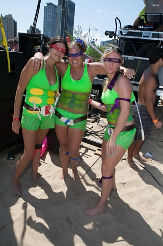 Big Dig 2012 - Ninja Turtles!!!