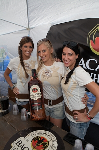 Big Dig 2012 - Beautiful Bacardi Girlz