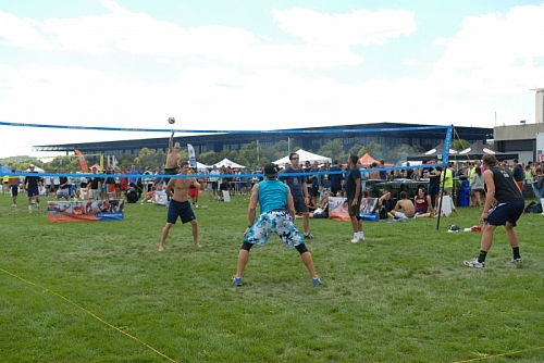 Luau Grass Volleyball Tournament 2012