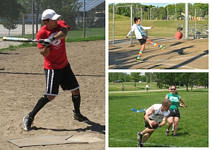 2018 Spring Leagues: Football, Kickball, Volleyball and Softball