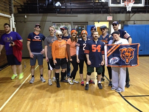 Halloween Dodgeball - Super Fans