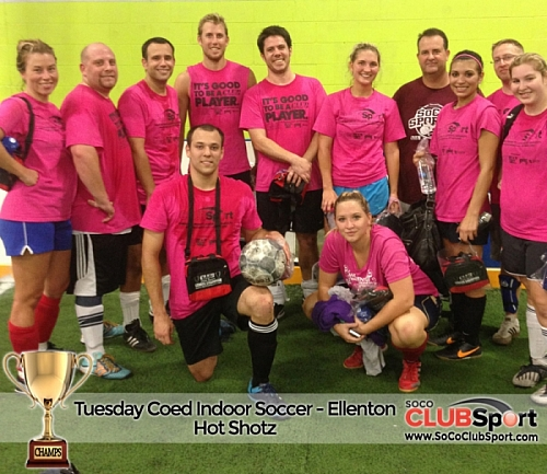 Hot Shotz - CHAMPS