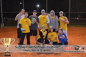 Yeah, we're shaved - CHAMPS photo