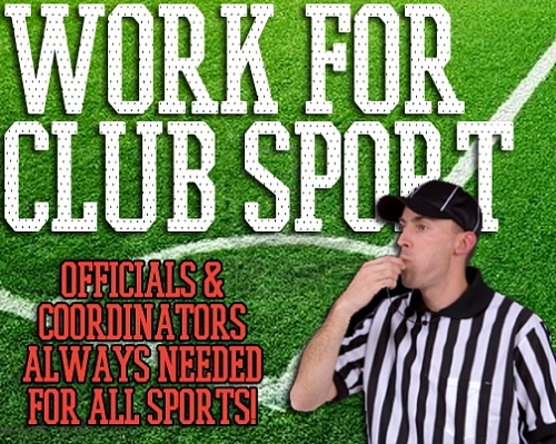 Be part of the Club Sport team!
