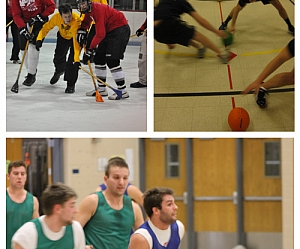 2016 Winter Indoor Leagues: Basketball, Broomball, Dodgeball, and Volleyball
