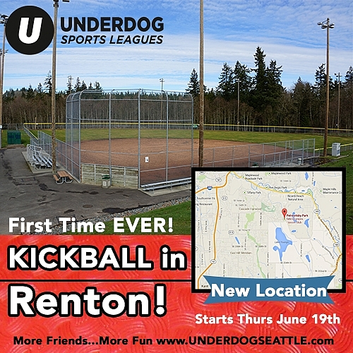 Brand New Kickball In Renton!