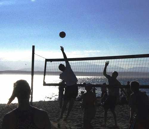 Early Summer Beach Volleyball!