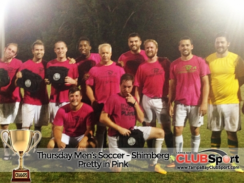 Pretty In Pink - CHAMPS