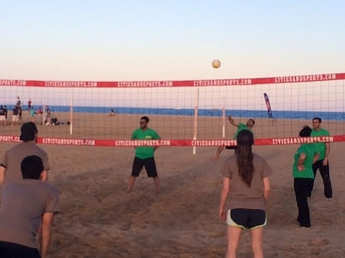 Friday Beach Volleyball 2014