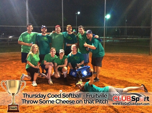Throw Some Cheese On That Pitch (r) - CHAMPS