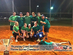 Throw Some Cheese On That Pitch (r) - CHAMPS photo