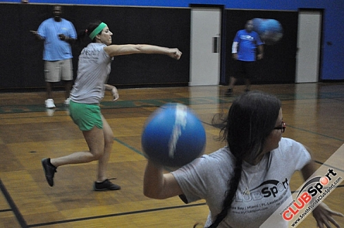 Dodgeball at Holiday Park