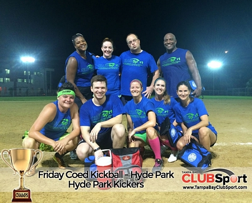 Hyde Park Kickers - CHAMPS