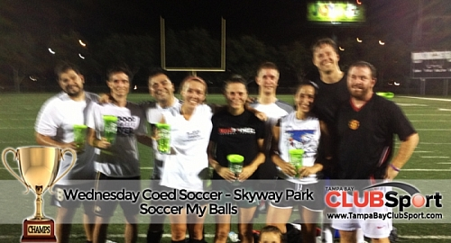 Soccer my balls - CHAMPS
