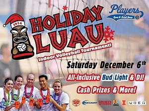 Holiday Luau Volleyball Tournament