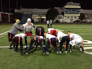 Face Down Ass Up Hike the Ball When I Say Hut! Team Photo