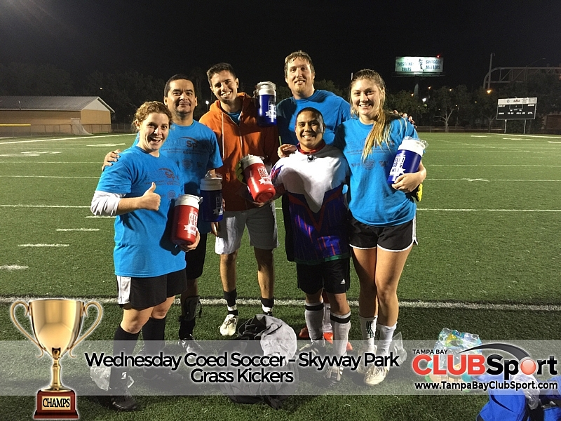 Grass Kickers - CHAMPS