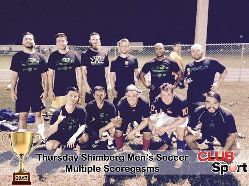 Multiple Scorgasms (r) - CHAMPS