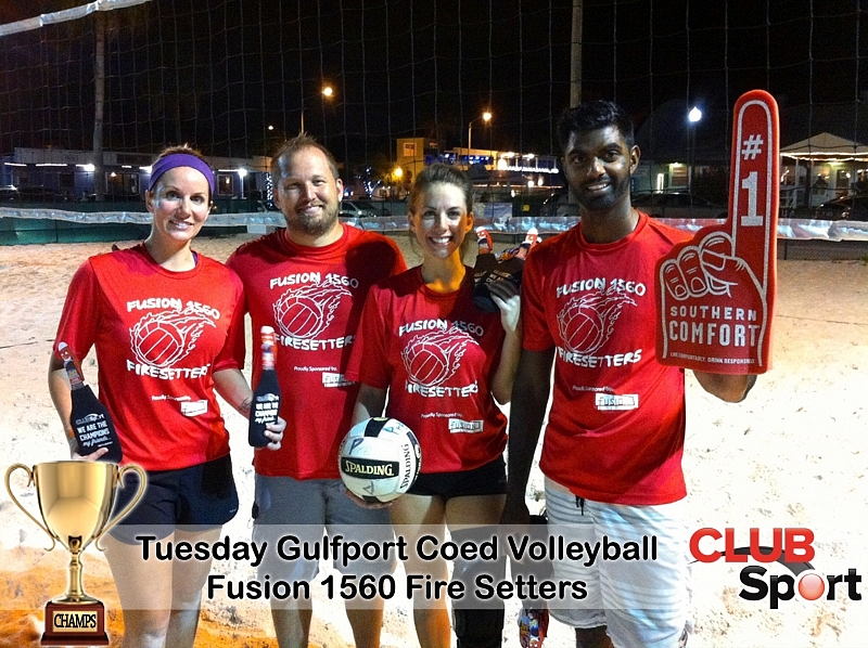 Fusion 1560 Fire-Setters - CHAMPS