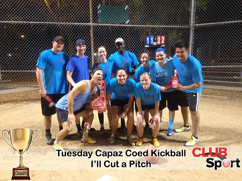 I'll Cut a Pitch - CHAMPS