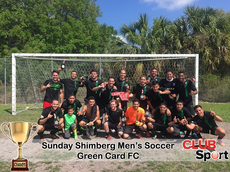 GREEN CARD FC (r) - CHAMPS