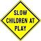 Slow Children At Play Team Logo