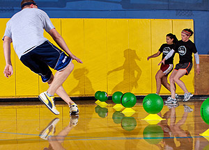 how to play dodgeball rules