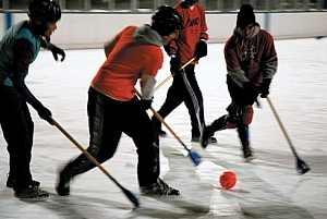 Sports Monster Denver Broomball