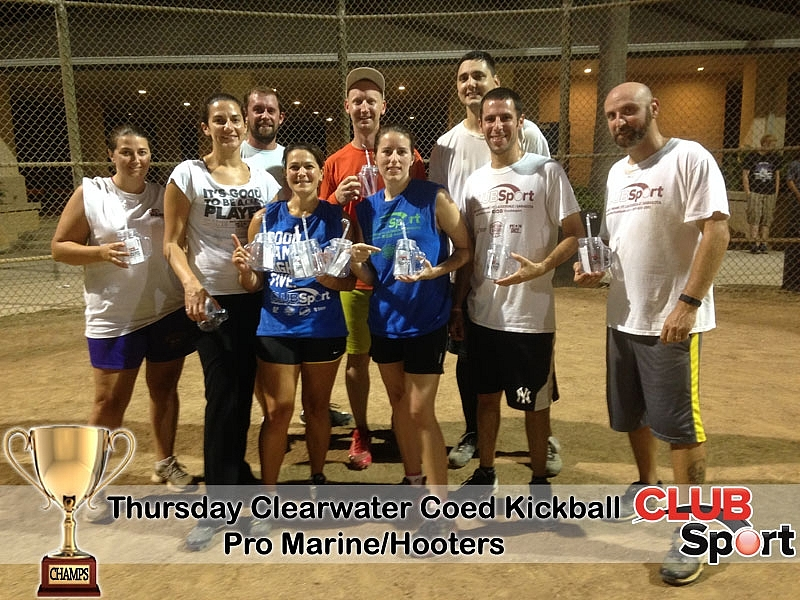 Pro Marine / Hooters - CHAMPS