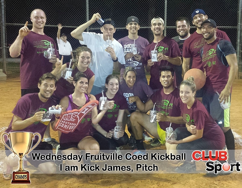 I am Kick James, Pitch (E) - CHAMPS
