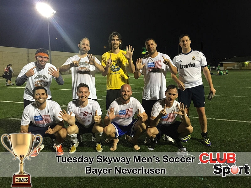 Bayer Neverlusen (m) - CHAMPS