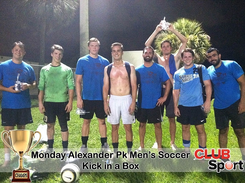 Kick in a Box - CHAMPS
