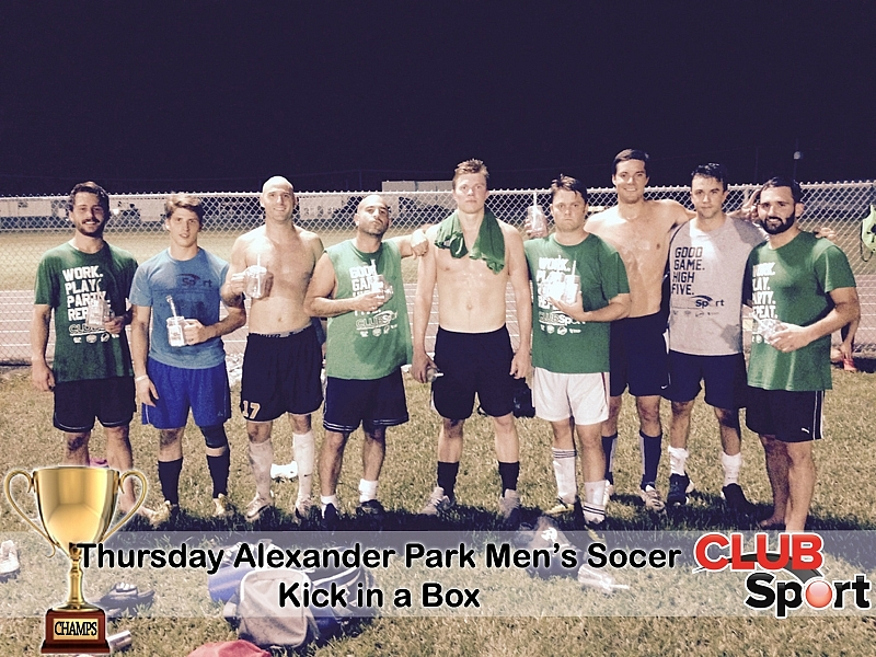 Kick in a Box (i) - CHAMPS