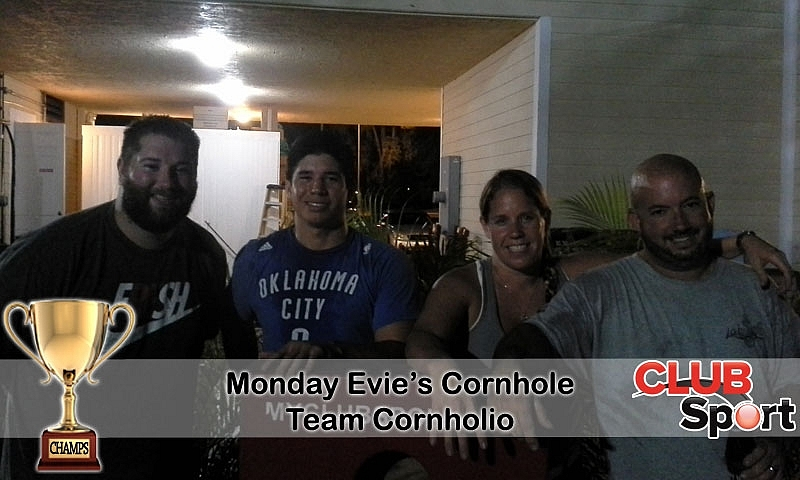 Team Cornholio (R) - CHAMPS