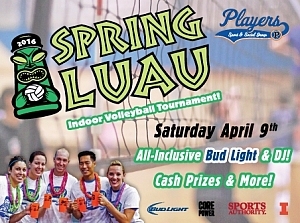 Spring Indoor Luau