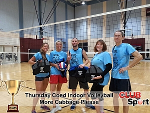 More Cabbage Please - CHAMPS Team Photo