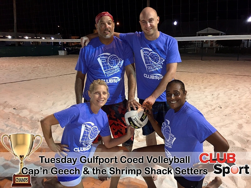 Cap'n Geech & the Shrimp Shack Setters - CHAMPS