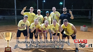 The Slammers (B) - CHAMPS Team Photo