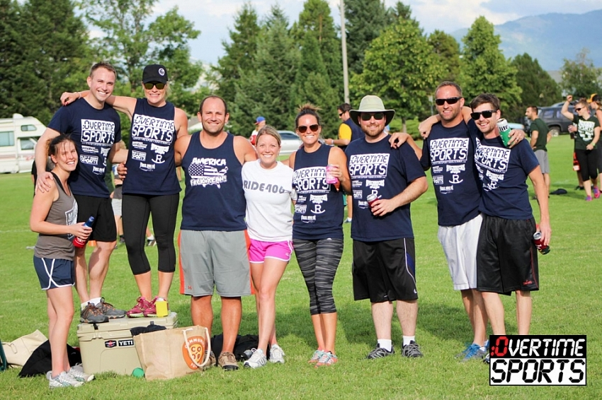 Summer 2015 Kickball Champions - Congratulations Balls and Dolls and a perfect season!