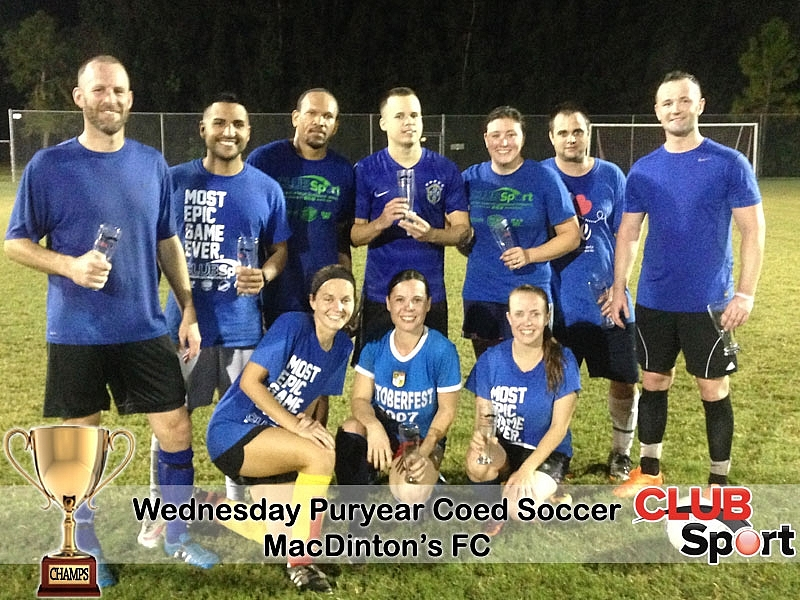 MacDinton's FC (i) - CHAMPS