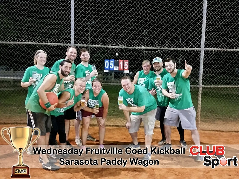 Sarasota Paddy Wagon (E) - CHAMPS