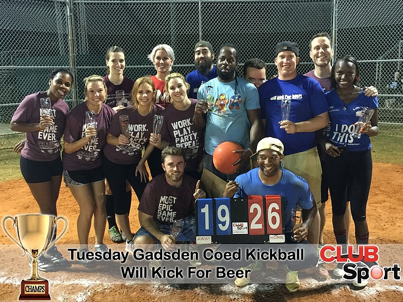 Will Kick For Beer (e) - CHAMPS