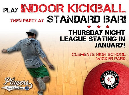 Indoor Kickball Flyer
